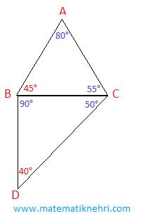 üçgende açı kenar bağıntıları